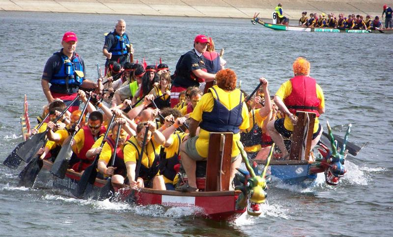 Medway Sunlight Rotary Club Dragon Boat Challenge – Sunday 27th May 2018