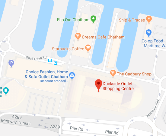 dockside outlet location