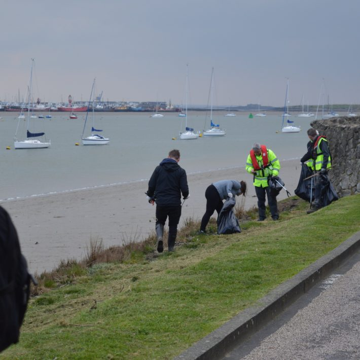 St. Mary's Island Clean-Up Campaigns