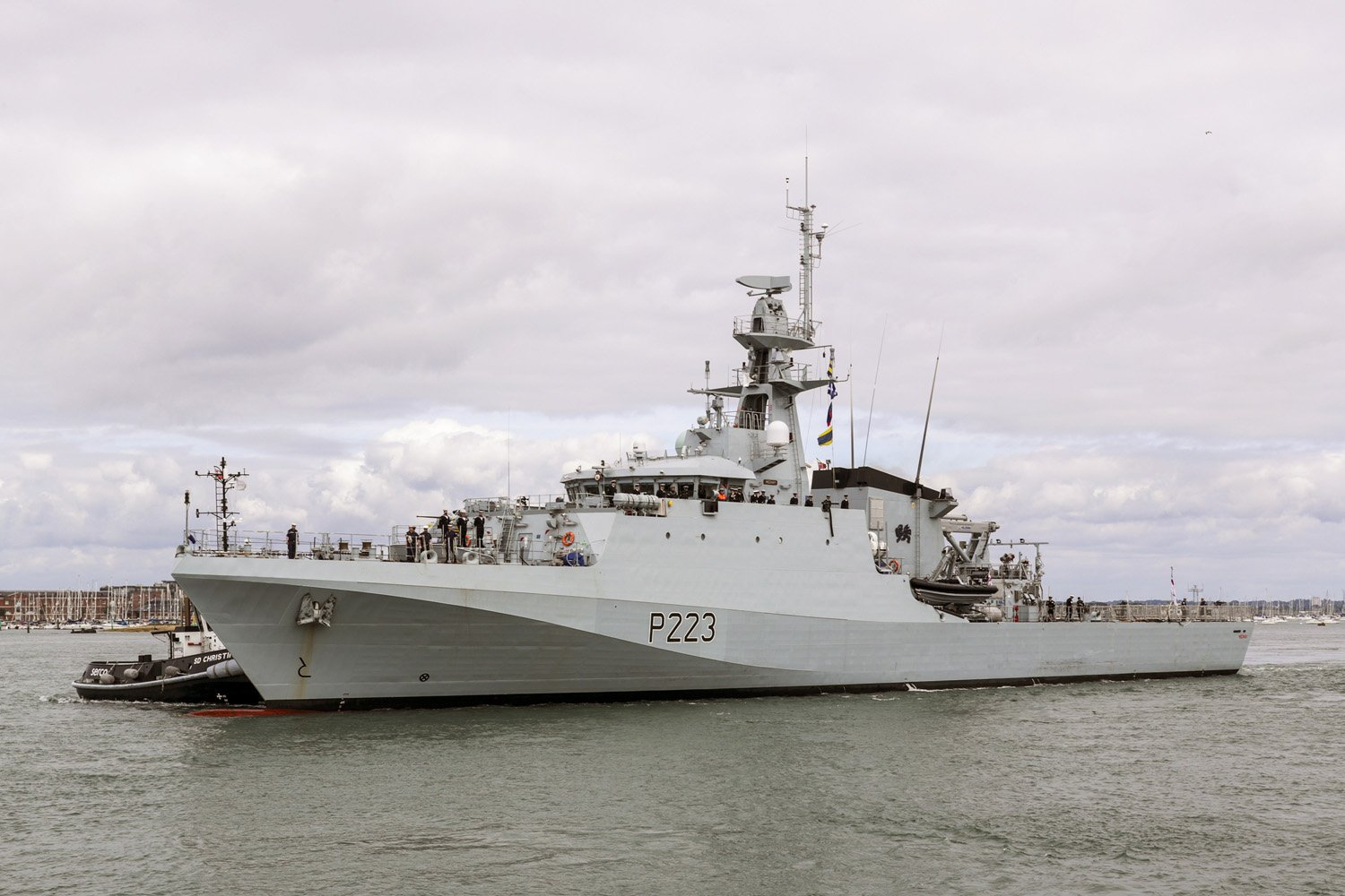 Chatham Maritime Welcomes HMS Medway