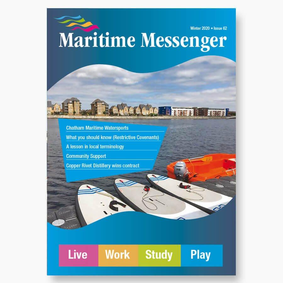 CMT Maritime Messenger Winter 2020